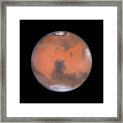 Framed Print featuring the photograph Mars by Artistic Panda
