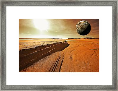 Mars Framed Print by Dapixara Art