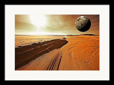 Red Planet Framed Prints