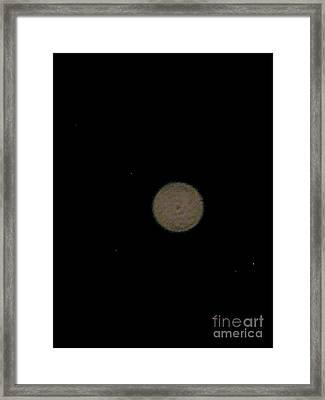 Mars Framed Print by Jennifer Pevos