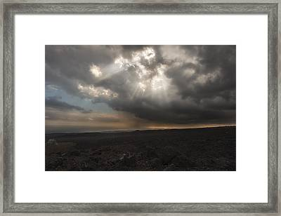 Framed Print featuring the photograph Mars Landscape by Ryan Manuel