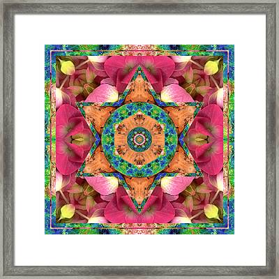 Mars Loves Venus Framed Print by Bell And Todd