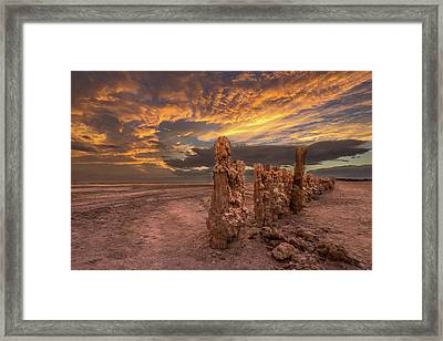 Framed Print featuring the photograph Mars by Peter Tellone