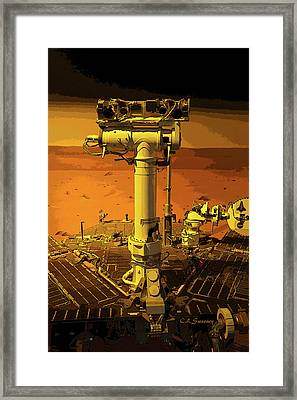 Pioneering Spirit  Framed Print