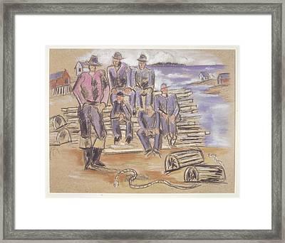 Marsden Hartley Framed Print by MotionAge Designs