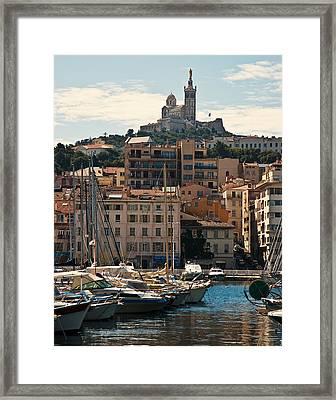 Framed Print featuring the photograph Marseilles by Ron Dubin