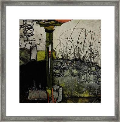 Marsh Antics Framed Print by Laura Lein-Svencner