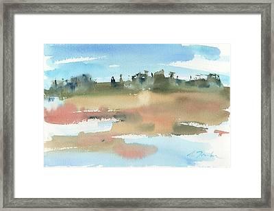 Marsh No.48 Framed Print