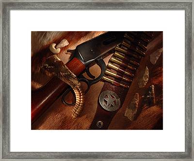 Marshal Framed Print by Daniel Alcocer