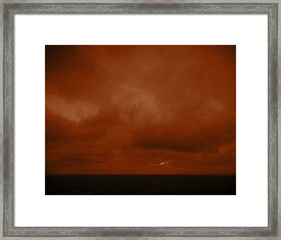 Marshall Islands Area Framed Print