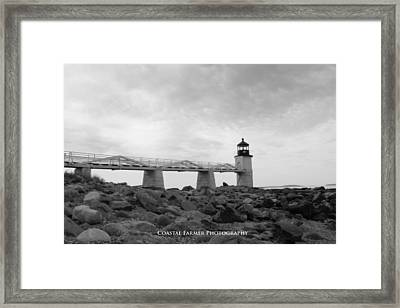 Marshall Point Framed Print by Becca Brann