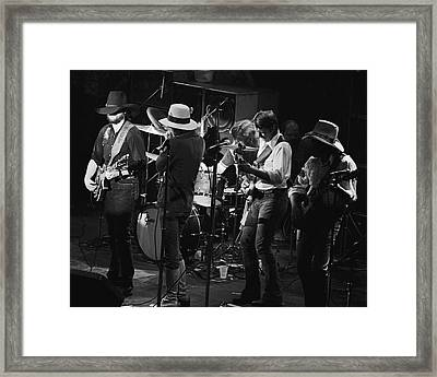 Marshall Tucker Band With Jimmy Hall 3 Framed Print by Ben Upham