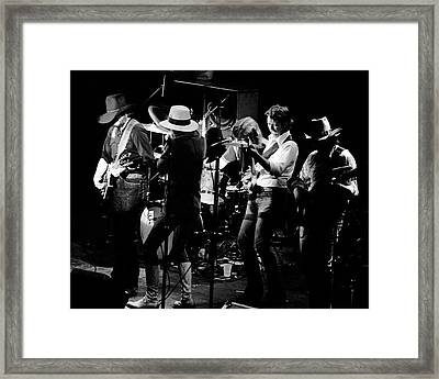 Marshall Tucker Band With Jimmy Hall Framed Print by Ben Upham