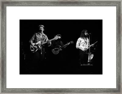 Marshall Tucker Winterland 1975 #47 Framed Print by Ben Upham