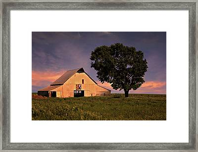 Marshall's Farm Framed Print