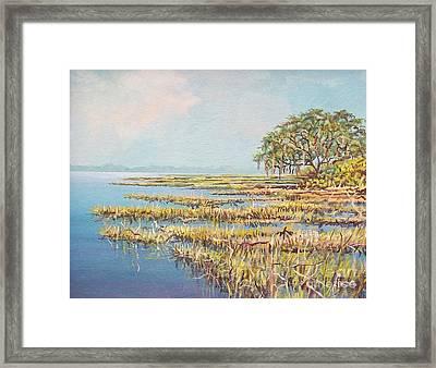 Marshland Framed Print by Sinisa Saratlic