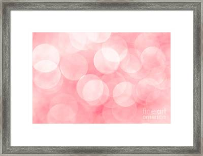Framed Print featuring the photograph Marshmallow by Jan Bickerton