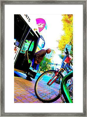Marta's Smarta Framed Print