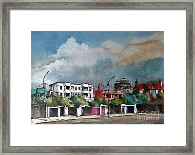 Martello Tower Bray Wicklow Framed Print
