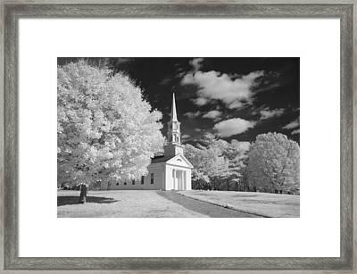 Martha And Mary Chapel Framed Print