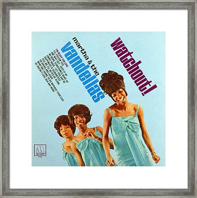 Martha And The Vandellas Framed Print by Granger