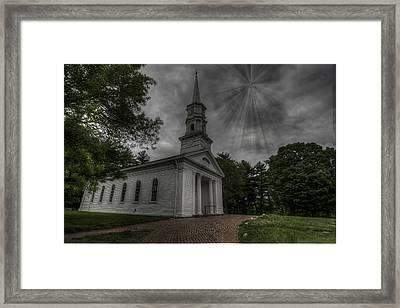 Martha Mary Chapel Framed Print by Chad Straw