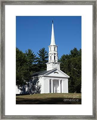 Martha-mary Chapel Framed Print by Gina Sullivan