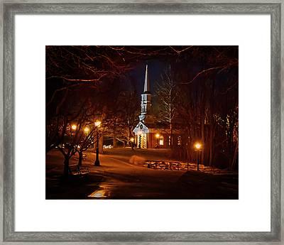 Martha Mary Chapel Framed Print by Susan Rissi Tregoning
