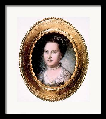 Martha Dandridge Framed Prints