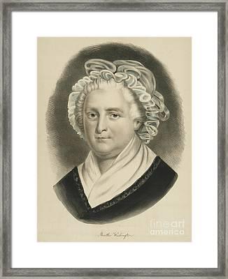 Martha Washington  Framed Print