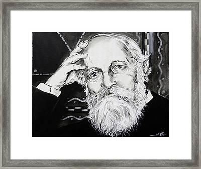 Martin Buber Framed Print