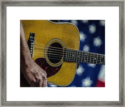Martin Guitar 1 Framed Print