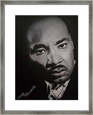 Martin Luther King Framed Print