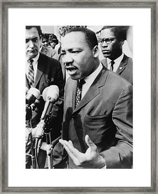 Martin Luther King, Jr. 1929-1968 Framed Print