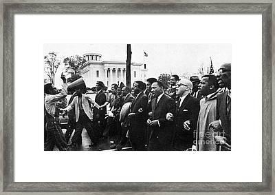Martin Luther King, Jr Framed Print