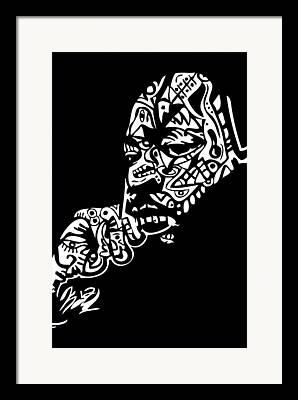Blackartist Framed Prints