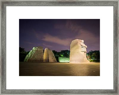 Martin Luther King Jr. Memorial Framed Print