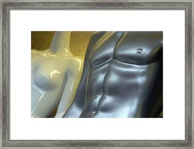 Martina And Frank Framed Print by Jez C Self