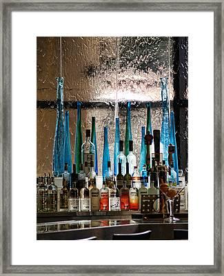 Martini Framed Print by Athala Carole Bruckner