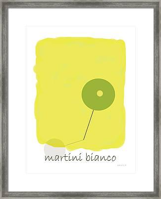 Martini Bianco Framed Print