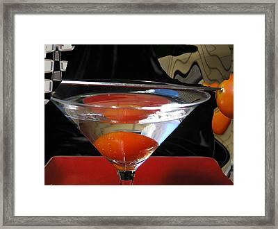 Martini Fantazy1 Framed Print by Evguenia Men