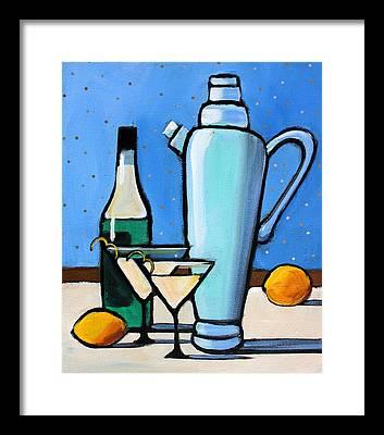 Martini Framed Prints