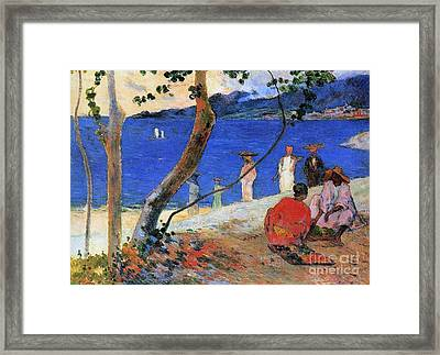 Martinique Island Framed Print by Paul Gauguin