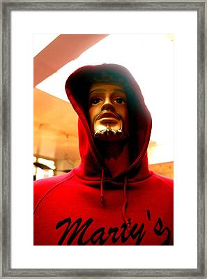 Martys Framed Print by Jez C Self