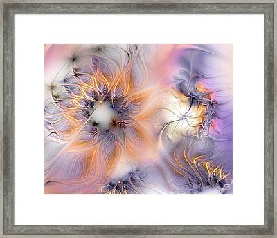Framed Print featuring the digital art Marvel by Casey Kotas