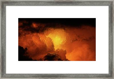 Marvelous Clouds Framed Print