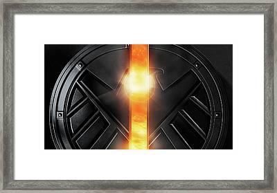 Marvel's Agents Of S.h.i.e.l.d. Framed Print