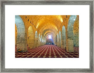 Marwani Mosque Framed Print