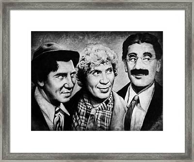 Marx Bros Framed Print