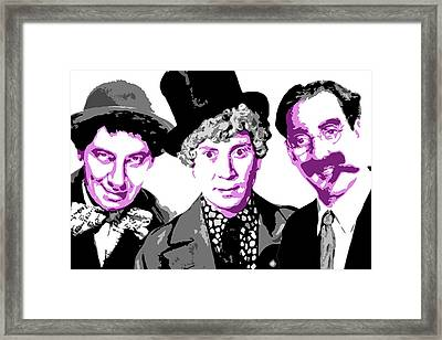 Marx Brothers Framed Print by DB Artist